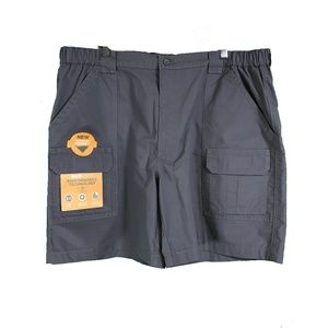 Savane Grey Size 42 Men's Cargo Shorts NWT